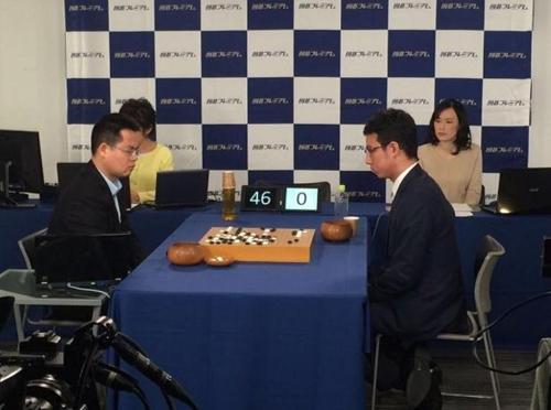 中 인공지능 '줴이', 일본 정상급 바둑 기사 꺾어