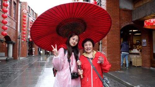 아역 출신 김보라, 촬영장 바래다주던 할머니와 대만 여행