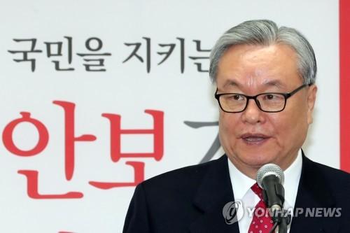 인명진, 31일 한국당 후보선출 뒤 비대위원장직 사퇴(2보)