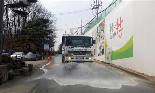 살수차 투입·소각장 단축…성남시 미세먼지 단계별 대응