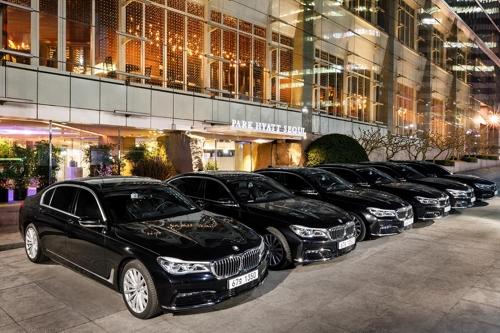 BMW, 파크 하얏트 서울에 리무진용 '뉴 7시리즈' 공급