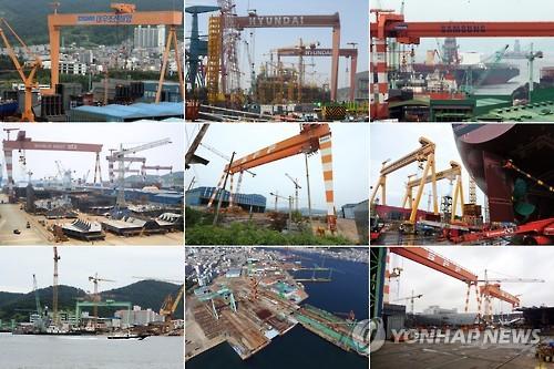 전남 조선업체들 선박 수주물량 줄어…구조조정 가속화 우려
