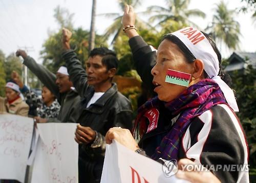 中, 10년 공들인 미얀마 댐 포기하나…'대안모색' 관측 잇따라