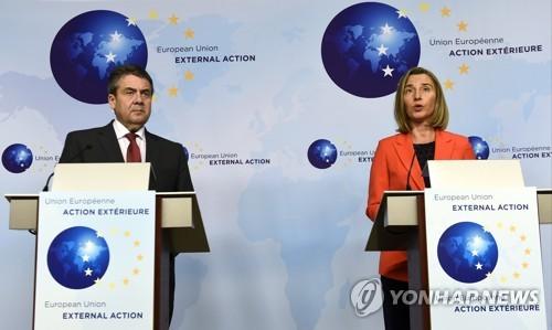 """EU """"시리아 폭격 이해"""" 밝히면서도 정치해법에 무게"""