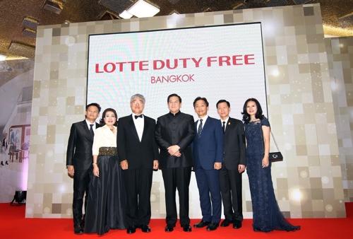 롯데, 7월 방콕 면세점 오픈…中 '사드보복' 국면 돌파구 기대