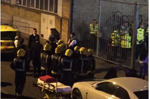 심야 런던 클럽서 다툼 끝에 산성 물질 공격…12명 부상
