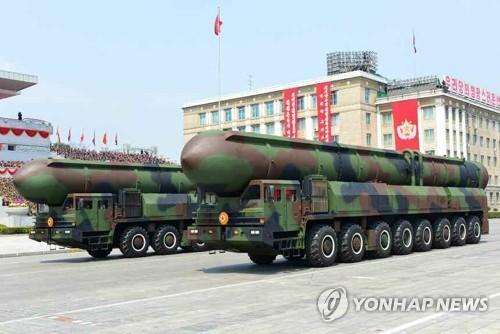 """""""북한, 열병식 공개 대륙간탄도미사일 발사대 차량은 중국제"""""""