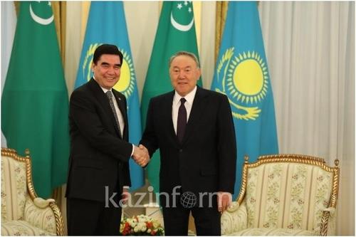 """투르크-카자흐 정상회담…""""에너지·교통 등 협력방안 논의"""""""