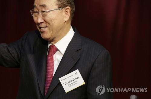 반기문, 美 친환경 논의 소개하며 트럼프 파리협정 탈퇴론 반박