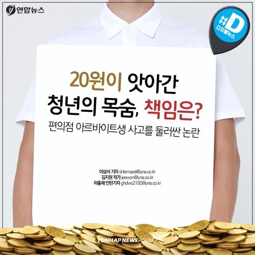 [카드뉴스] 20원이 앗아간 청년의 목숨, 책임은?
