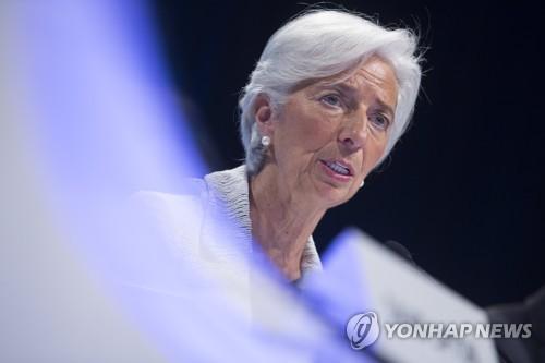 """IMF 라가르드 총재 """"부패와 전쟁이 브라질 강하게 만들 것"""""""