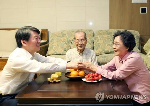 """안철수, 고향서 安風 재확산 드라이브…""""PK서 승리의 기틀"""""""