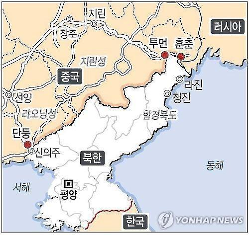 中동북지방서 한국·북한인 일일동향 파악나서 배경 관심