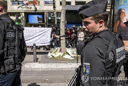 대선 하루 전 파리 북역서 흉기 소지 괴한 체포…또 놀란 프랑스(종합)