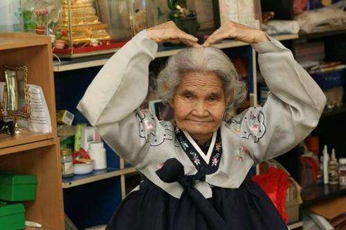 77세 참전용사 미망인의 한국어 사랑, 태국내 최고령 토픽 응시