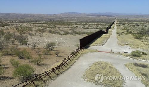 멕시코 국경장벽 美4개주 상·하원의원들 예산안에 '싸늘'