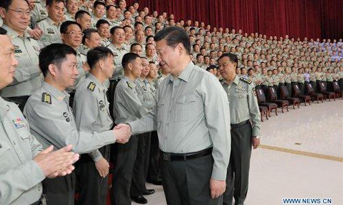 시진핑, 군부대 시찰…당대회 앞두고 군부결속 강화
