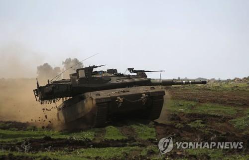 이스라엘군의 시리아 공습에 친정부 무장대원 3명 사망