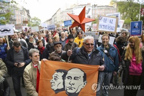 소로스와 '전쟁' 벌이는 헝가리…국내외 반발 확산