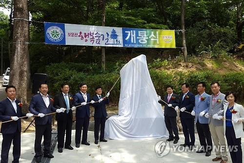 대전 보문산에 '치유의 숲' 조성한다…2019년 완공