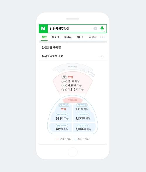 오늘부터 네이버 검색으로 인천공항 주..