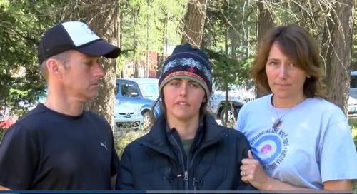 美몬태나 산악지대서 실종된 20대女, 7일만에 극적 구조
