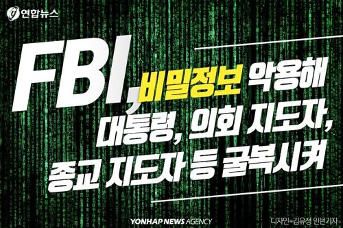 [숨은 역사 2cm] FBI 미국인 43만 명 'X파일' 보관…대통령 불..
