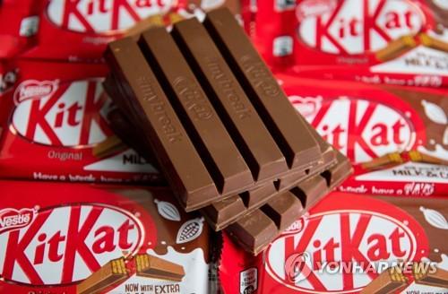 네슬레 '킷캣' 초콜릿 형태 전쟁서 또 1패 추가