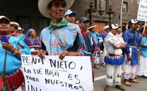 멕시코 원주민 토지권리 운동 지도자 형제와 함께 피살