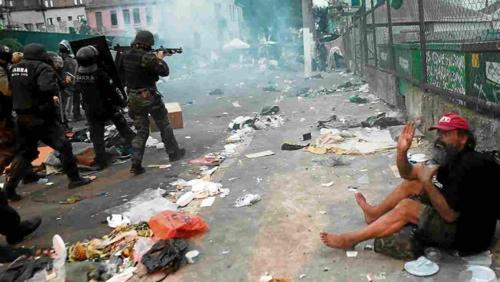 브라질 당국, 상파울루 최대·최악 마약 소굴 소탕