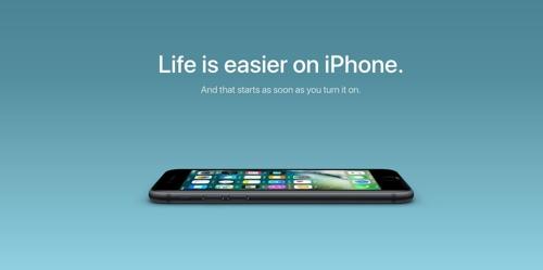 """애플, 안드로이드폰 사용자 겨냥 """"아이폰으로 바꾸세요"""" 캠페인"""