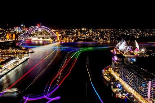 빛의 축제 '비비드 시드니' 10년…'창의력'으로 진화한다