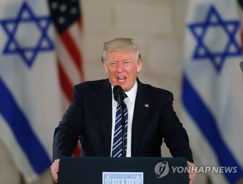 트럼프, 노골적 친이스라엘 행보…이번엔 홀로코스트추모관 방문