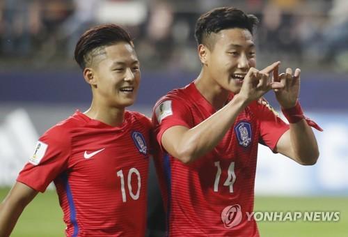 [U20월드컵] '바르사 듀오' 한 골만 더 넣으면 한국 선수 최다득점 ..