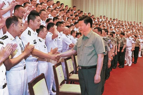 """中시진핑 """"강력한 원양해군 건설"""" 강조…미국 견제 염두뒀나"""