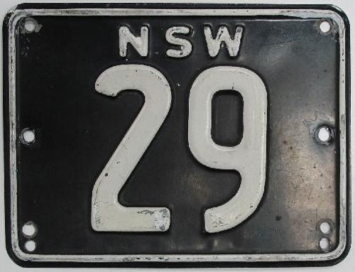 호주서 100여년 전 발급 차 번호판 6억3천만원에 팔려