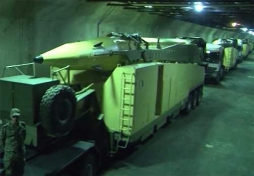 """이란 """"세번째 탄도미사일 지하 생산시설 완공"""""""