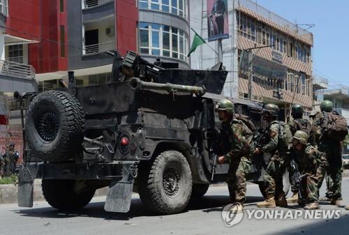 아프간서 탈레반 연쇄 공격에 군인 등 최소 18명 사망