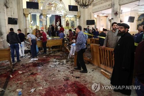 라마단 앞두고 이집트서 콥트교도 버스 무차별 총격…26명 사망(종합)