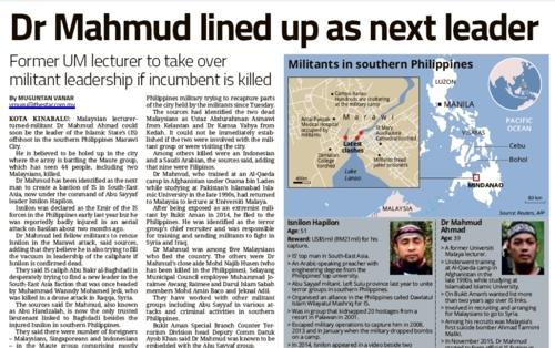 필리핀 남부 소도시 점령한 IS추종 반군은 '다국적군'