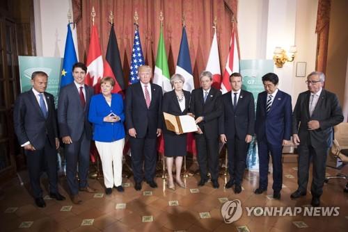 G7, 대북압박 강화 의지 확인…실효적 조치는 미지수
