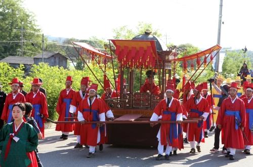 청주 초정약수축제 막내려…6만7천여명 방문
