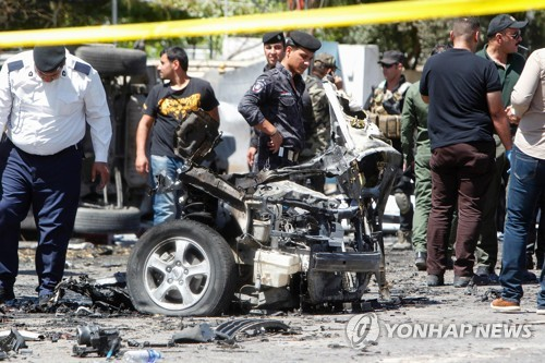 바그다드 북부서 자폭테러로 10명 사망…IS 배후 자처
