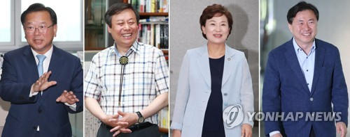 """與 장관후보 4인방, 뒤바뀐 '甲乙'…""""낮은 자세로 청문회 대비"""""""