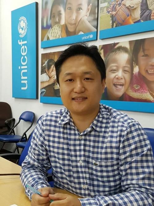 """[사람들] 유니세프 라오스사무소 김택수 씨 """"국제기구 취업하려면…"""""""