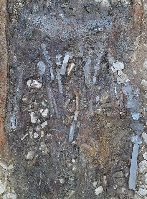 경산서 1천500년전 압독 지배층 묘 발굴…어린이 인골도(종합)