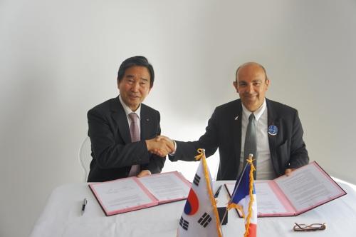 한-프랑스, 항공우주산업 기술 협력 MOU