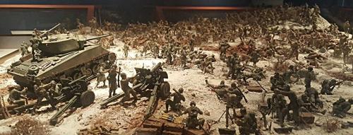 미2사단 박물관 미군 눈으로 본 6·25 전쟁 소개