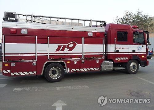 대전 음식점서 불…주민 10명 연기 흡입