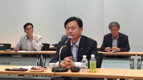 """김영춘 """"퇴직연금제 도입 등 선원복지 개선 노력"""""""